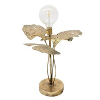 Gingko LED Lamp 48cm - Gold