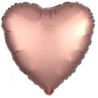 Foil Heart Balloon - Rose Gold