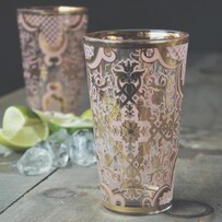 Bellisimo Highball Glass - Blush