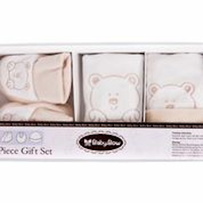 3 Peice Bear Gift Set - Beige