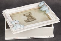 Bear Photo Box - Girl