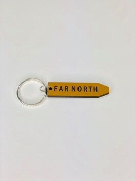 Sign Key Ring - Far North