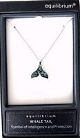Paua Whale Tail Necklace