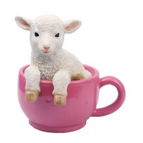 Lamb in Cup Money Box