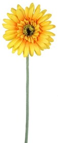 Artificial Gerbera - Yellow