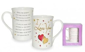 Sentiments Mug - I love you