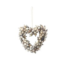 Shell Heart Small - Natural