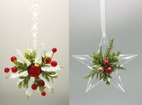 Hanging Christmas Star