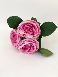Cabbage Rose Bouquet - Pink