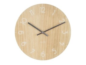 Karlsson Wood Clock