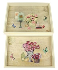 Floral Tray Set