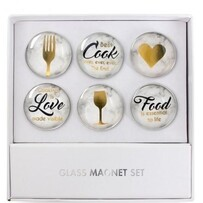 Glass Magnet Set