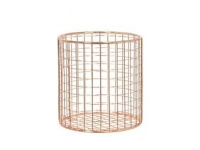 Utensil Basket - Rose Gold