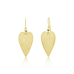 Amour Small Earrings - Yellow Gold
