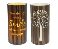 Cylinder Nightlight - Smile
