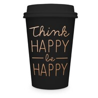 Think Happy Travel Mug