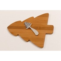 Wooden Bread Board - Xmas Tree