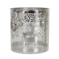Filigree Votive - Silver
