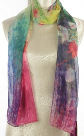 Chiffon Watercolour Scarf
