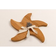 Wooden Cheese Board - Starfish