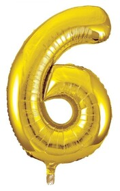 Giant Helium Number 6 - Gold