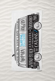 Moana Road Beach Towel - Surfing Combi