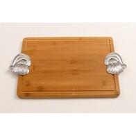 Wooden Bread Board - Santa