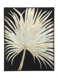 Fan Palm Metal Wall Art