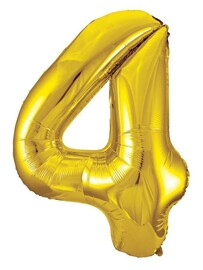 Giant Helium Number 4 - Gold