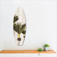 Ply Surfboard Art - Nikau