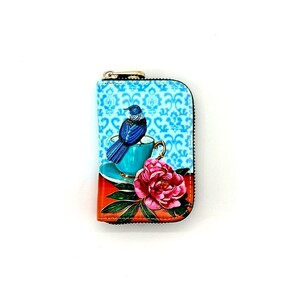 Kiwiana Card Holder - Teacup Tui
