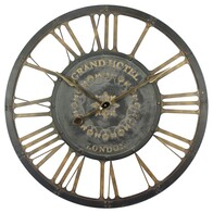 Iron Grand Hotel Wall Clock 890mm