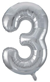 Giant Helium Number 3 - Silver