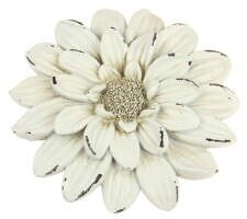 Floral Wall Decor - White