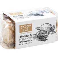Single Cheddar & Poppy Seed Wafers