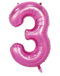 Giant Helium Number 3 - Pink