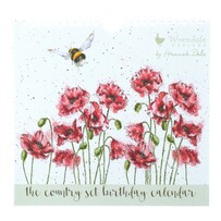 Birthday Calendar Bees - Country Set