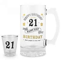 21 Shot and Stein Set