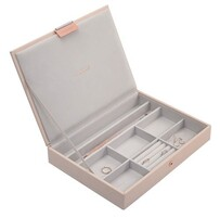 Stackers Classic Jewellery Box Lidded - Pink