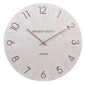 White Face Wall Clock