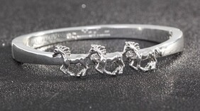 EQ Country Horses Bangle