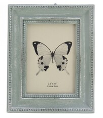 Dotted Edge Photoframe - Blue
