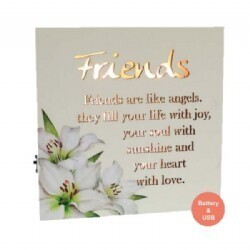 LED Plaque - Friend