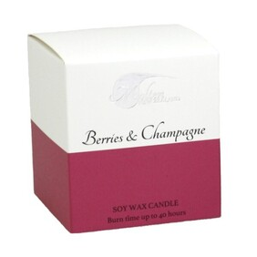Berries & Champagne Candle
