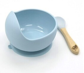 Moana Road Silicon Suction Bowl - Blue