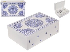 Jewellery Box - Blue Mandala