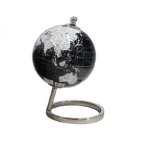 World Globe 20cm - Black