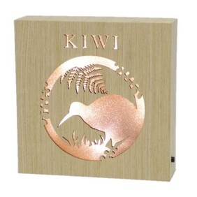 Wooden LED Block - Kiwi