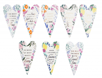Eden Ceramic Hearts - Assorted