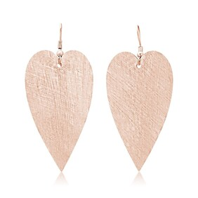 Amour Large Earrings - Rose Gold